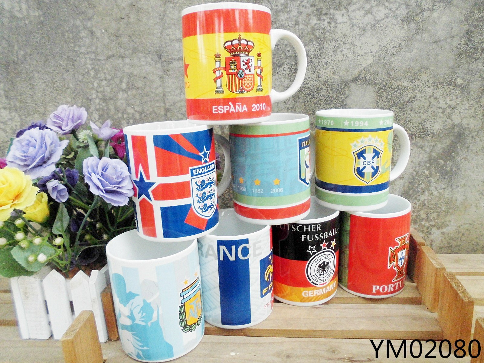 14 Oz Ceramic Nescafe Mugs