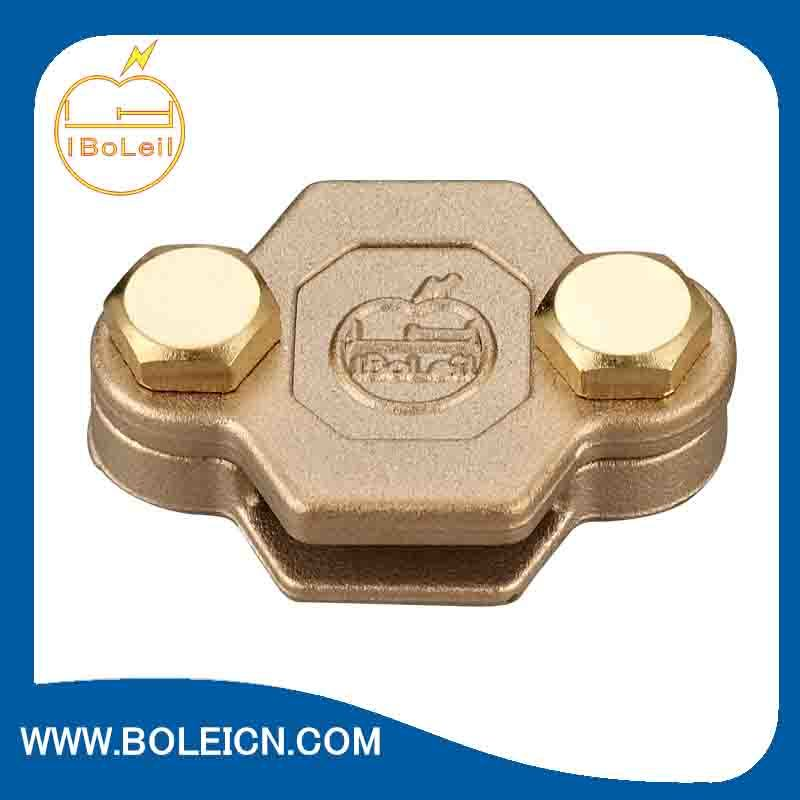 Metallic Conductor Clips Copper Earthing Grounding Clamps Oblong Test/Junction Clamp