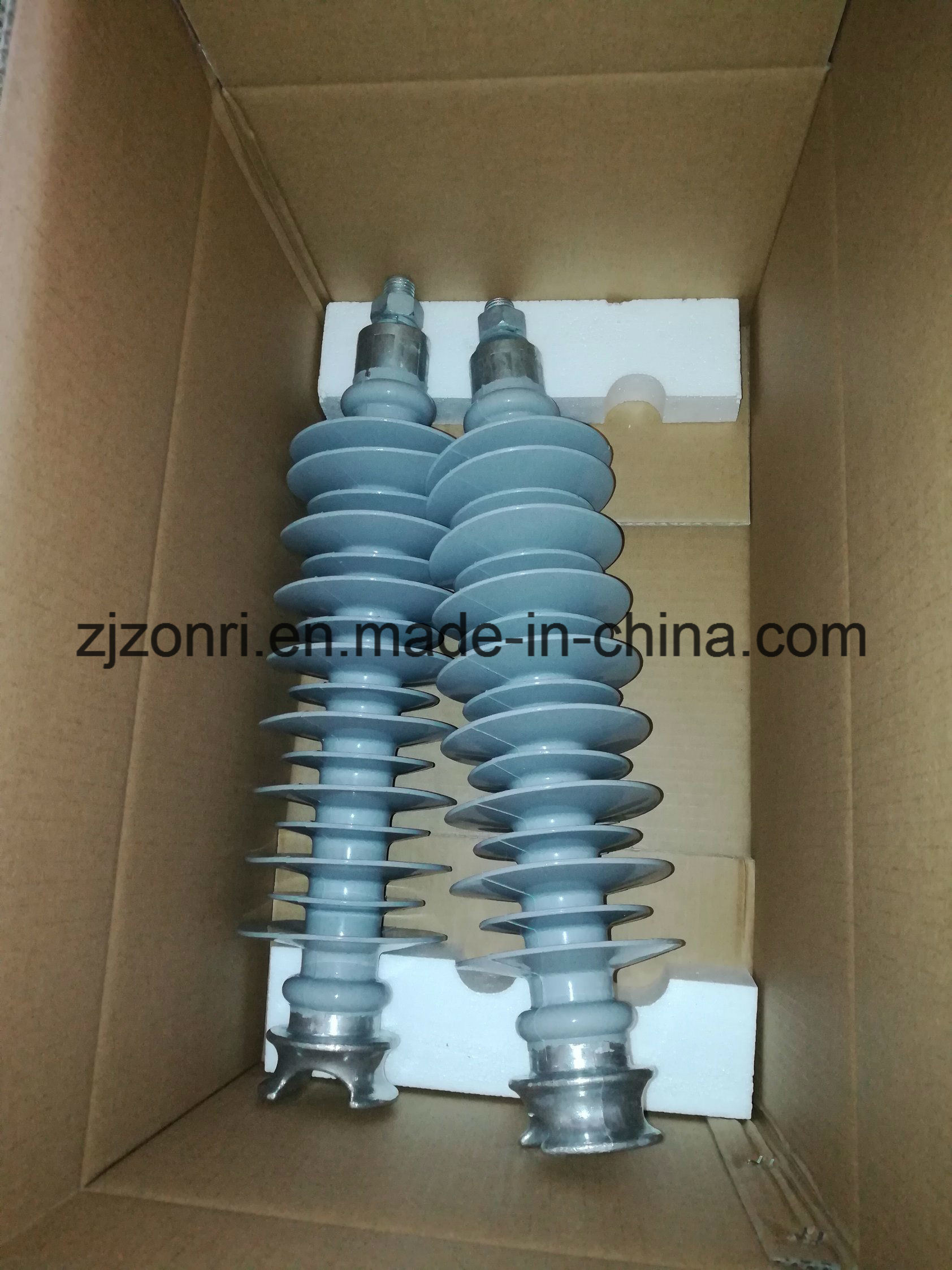 Export Hv 11kv-33kv Pin Type Composite Insulator for Transmission