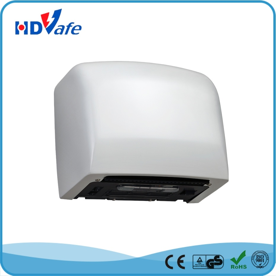 High Speed Automatic Hand Dryer with HEPA System 190mm Outlet