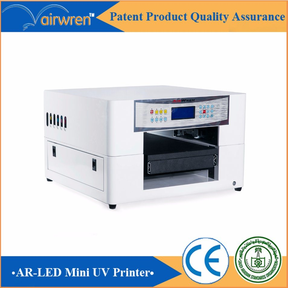 Digital UV Flatbed Phone Case Printer with White UV Ink