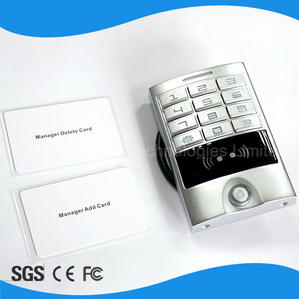Fashionable Design Touch IP66 Access Control Keypad Door RFID Access Control System