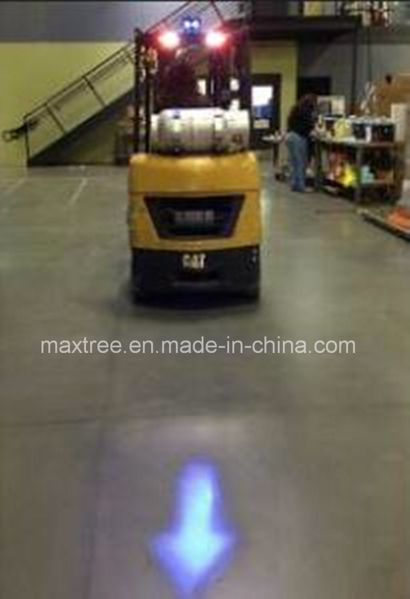 2*5W 10W Blue Arrow LED Forklift Lights Safety Light