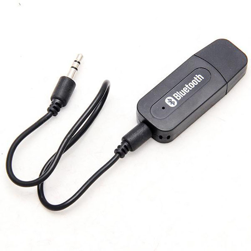 Mini USB 3.5mm Audio Stereo Bluetooth Music Receiver Car Kit for Aux in Car Home Speaker