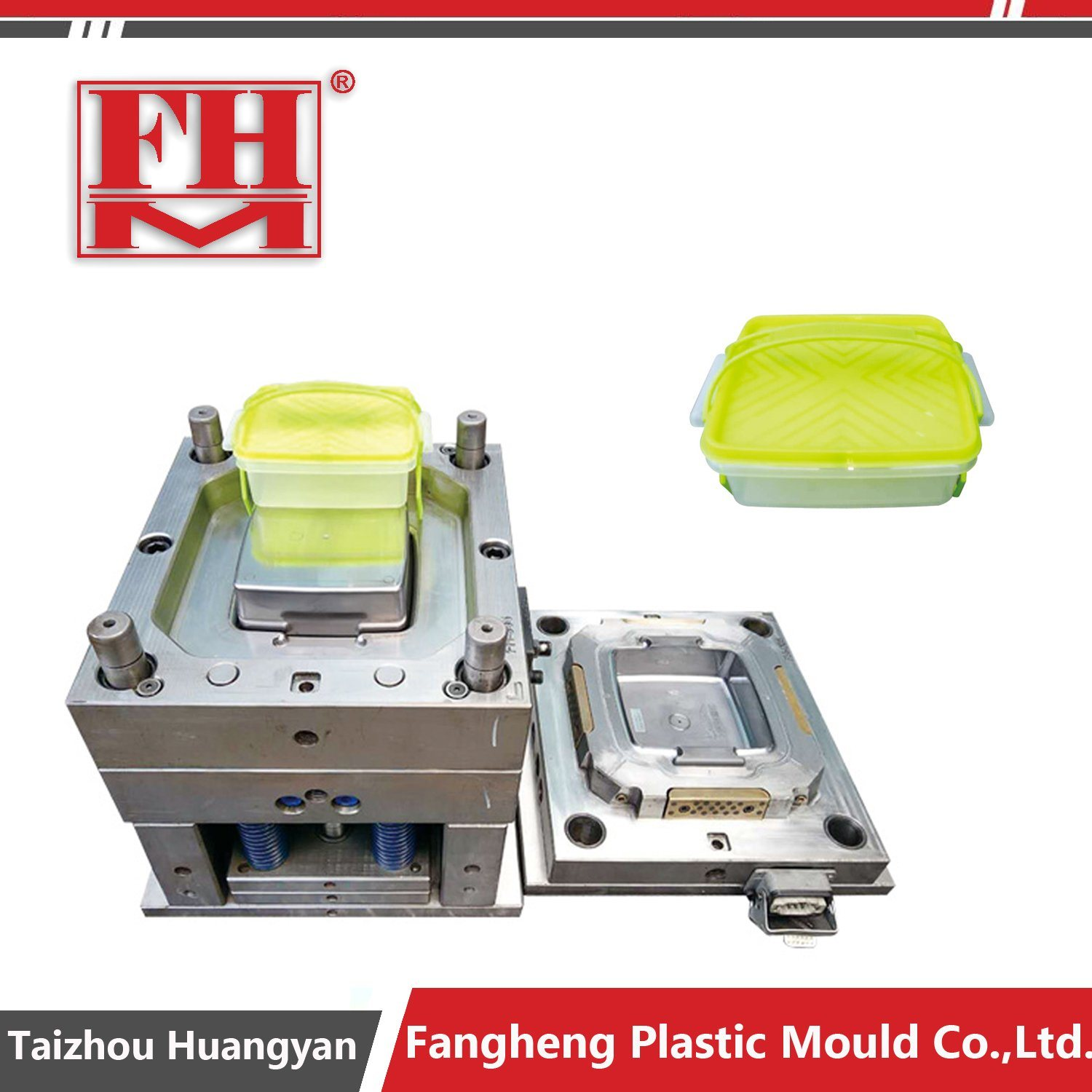 Plastic Thinwall Lunch Box Container Mould