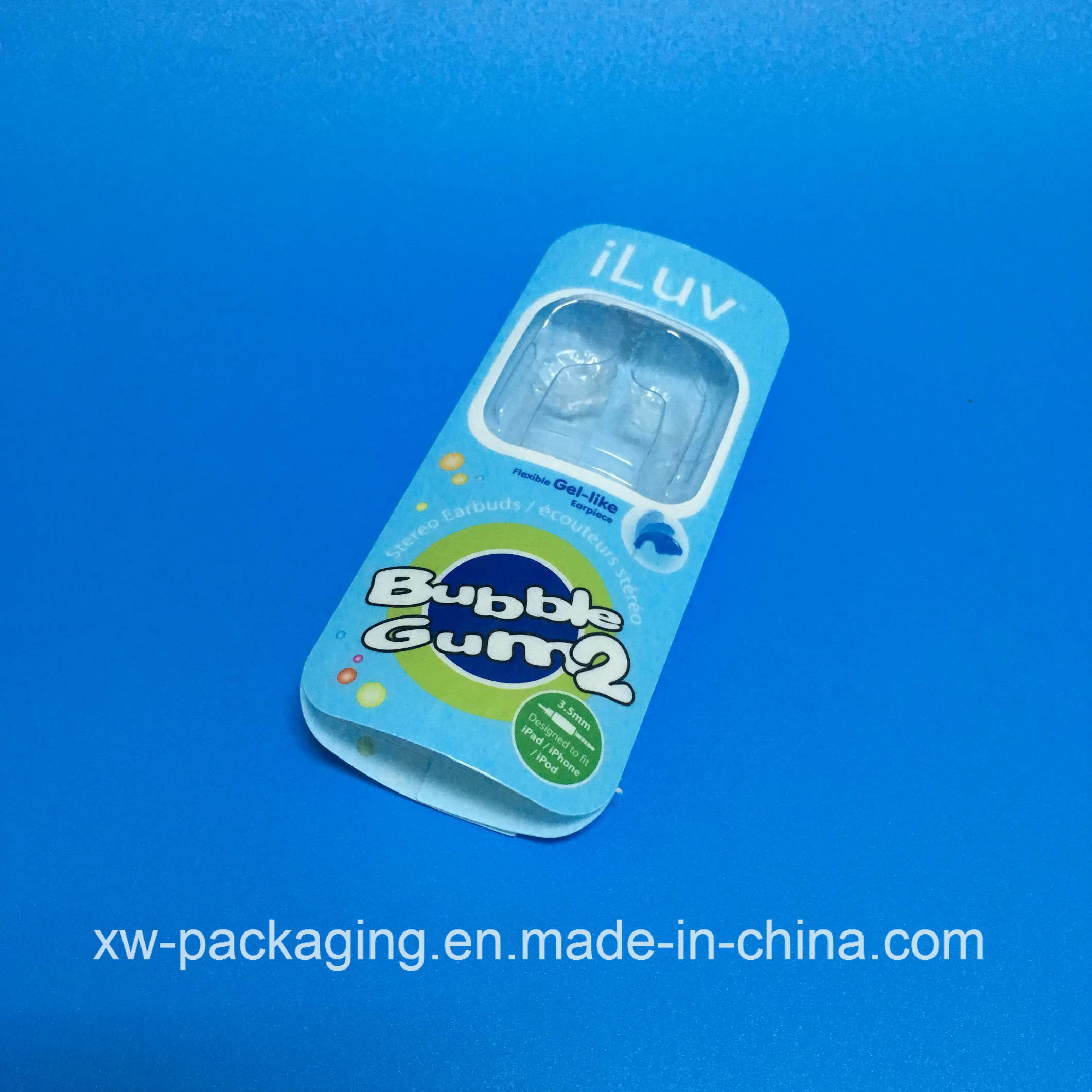 Custommized Transparent Plastic Tray for Phone Headset Products
