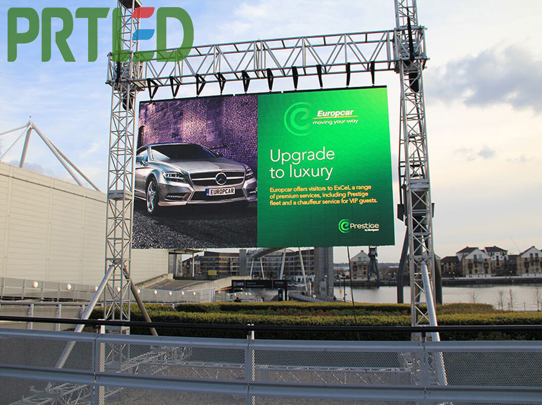 High Definition Outdoor P4 Rental Full Color LED Billboard for Stage/Event/Show