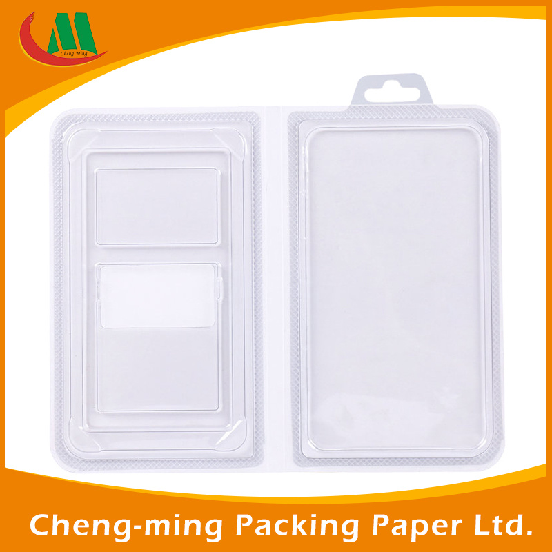 Custom Logo Clear PVC Paper Gift Packaging Box with Window