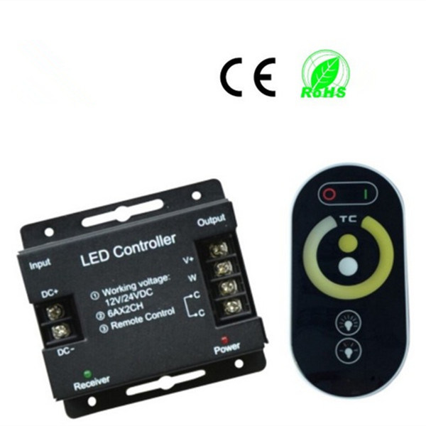 LED Dimmer for Color Temperature Adjustable Lights