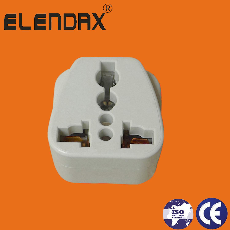 Travel AC Power Socket Plug Adaptor /Converter Electrical Plug (AP6030)