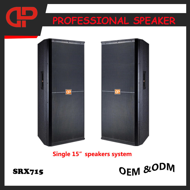 Stage PRO Audio Speaker Srx715 PA Speaker