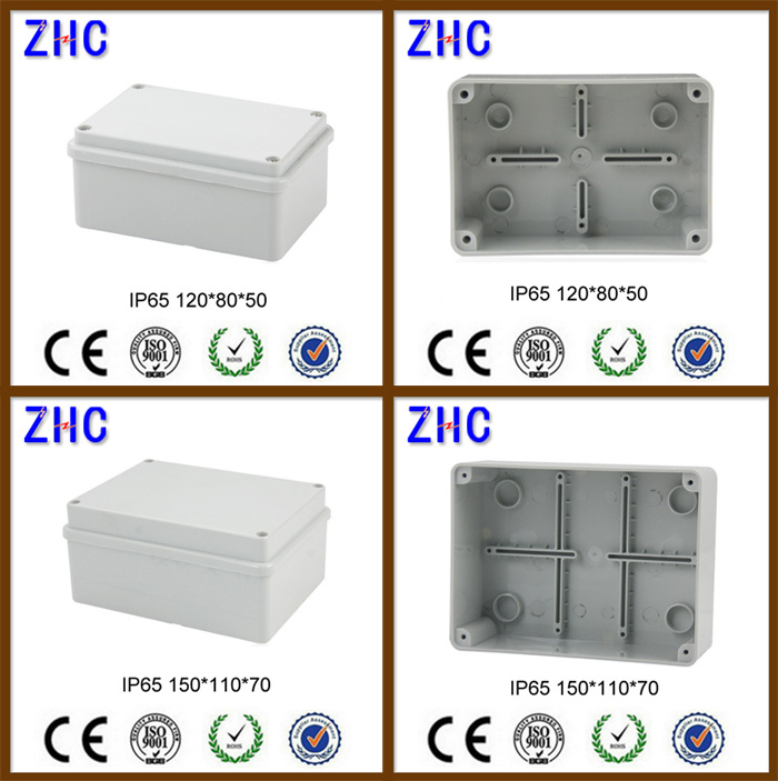 Waterproof Instrument Box 190*140*70mm Poly Carbonate Weatherproof DIN Rail Plastic Enclosure