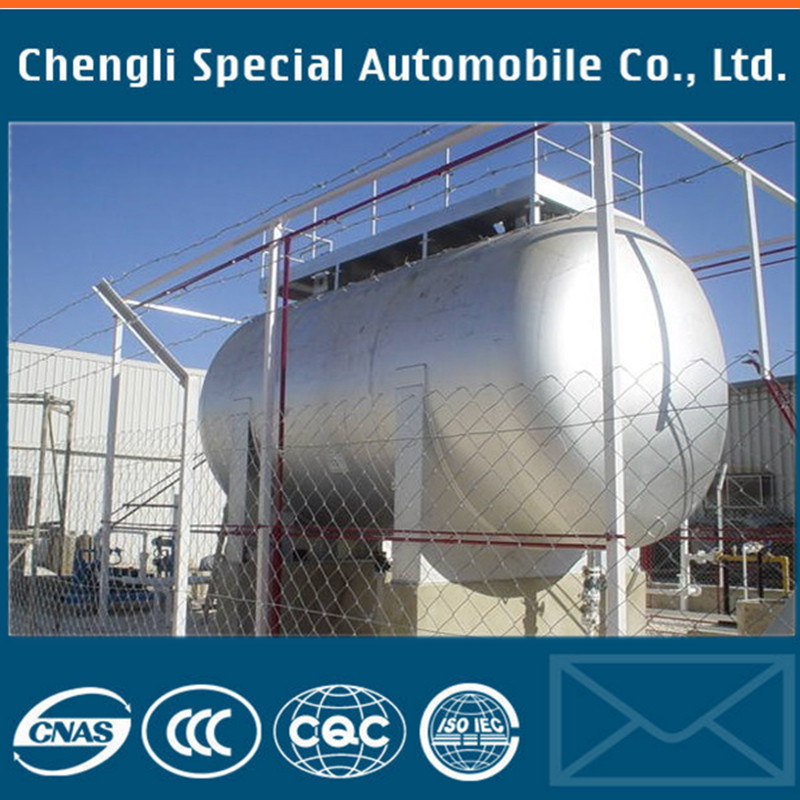 5m3 2tons 5000liters Horizontal Bulk Gas Tanker LPG Storage Tank
