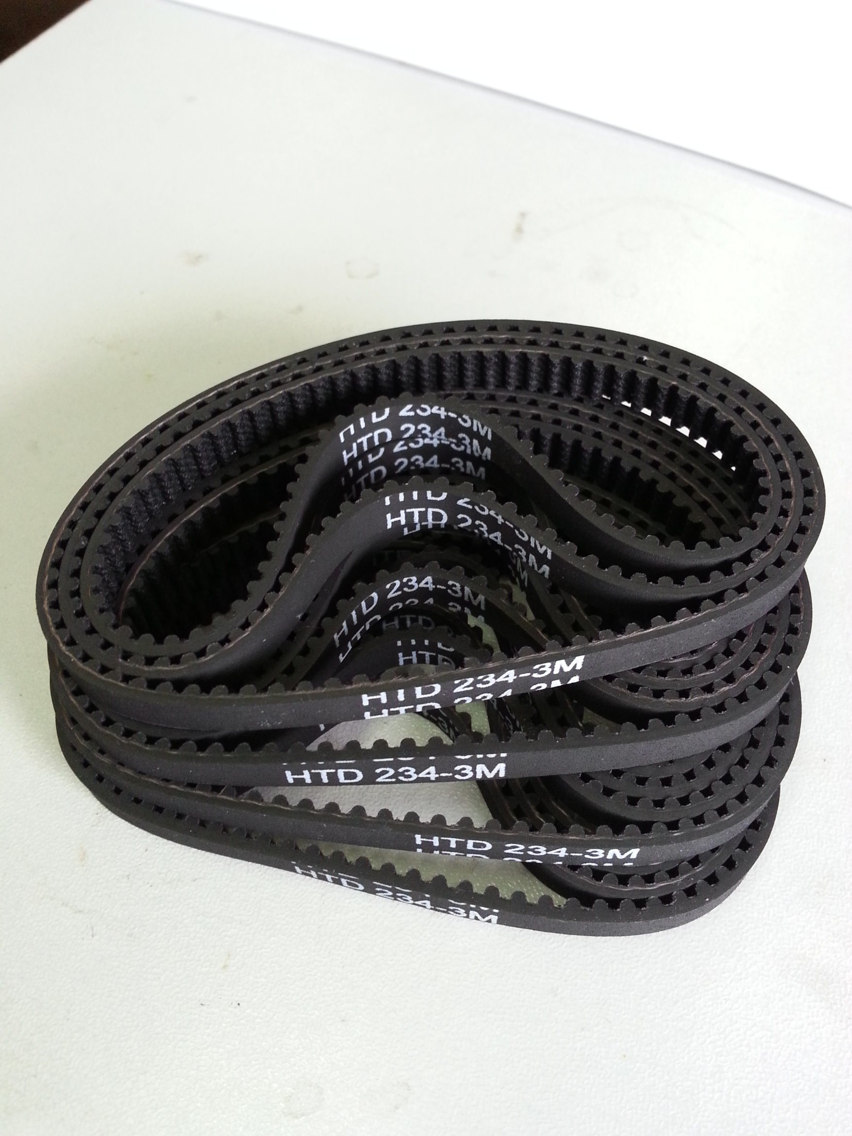 Black Rubber Tming Belt From Ningbo