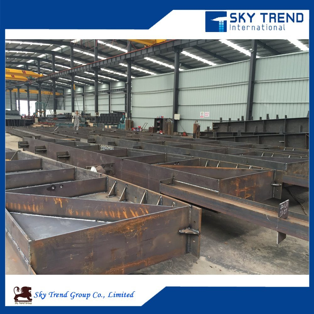Galvanized Steel Structure for Steel Hangar