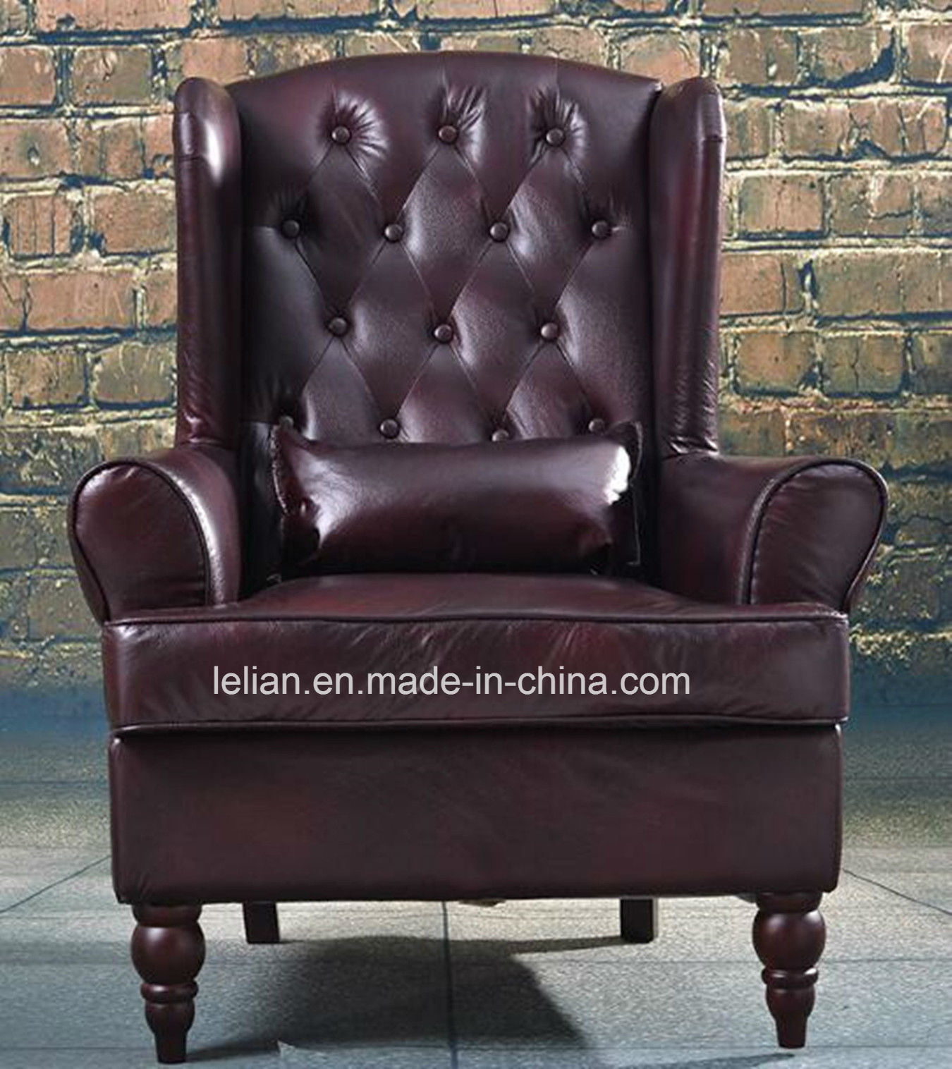 American Style Living Room Comfortable Single Seater Leisure Sofa Chair (LL-BC080)