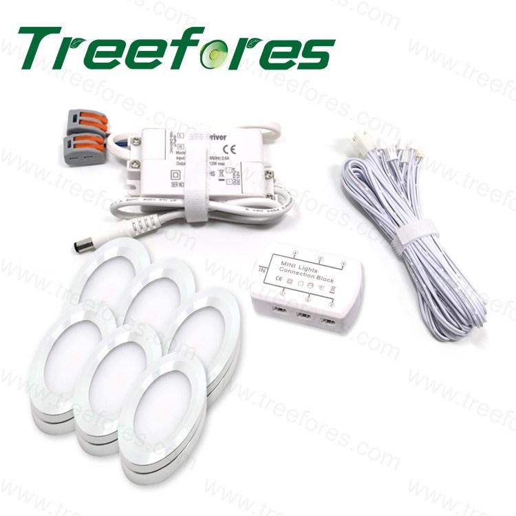 2W DC12V LED Bulb Downlight Lamp Cabinet Lighting