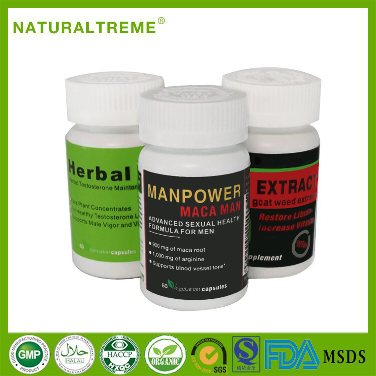 Herbal Lepidium Meyenii Walp Max Energy Boost Capsule