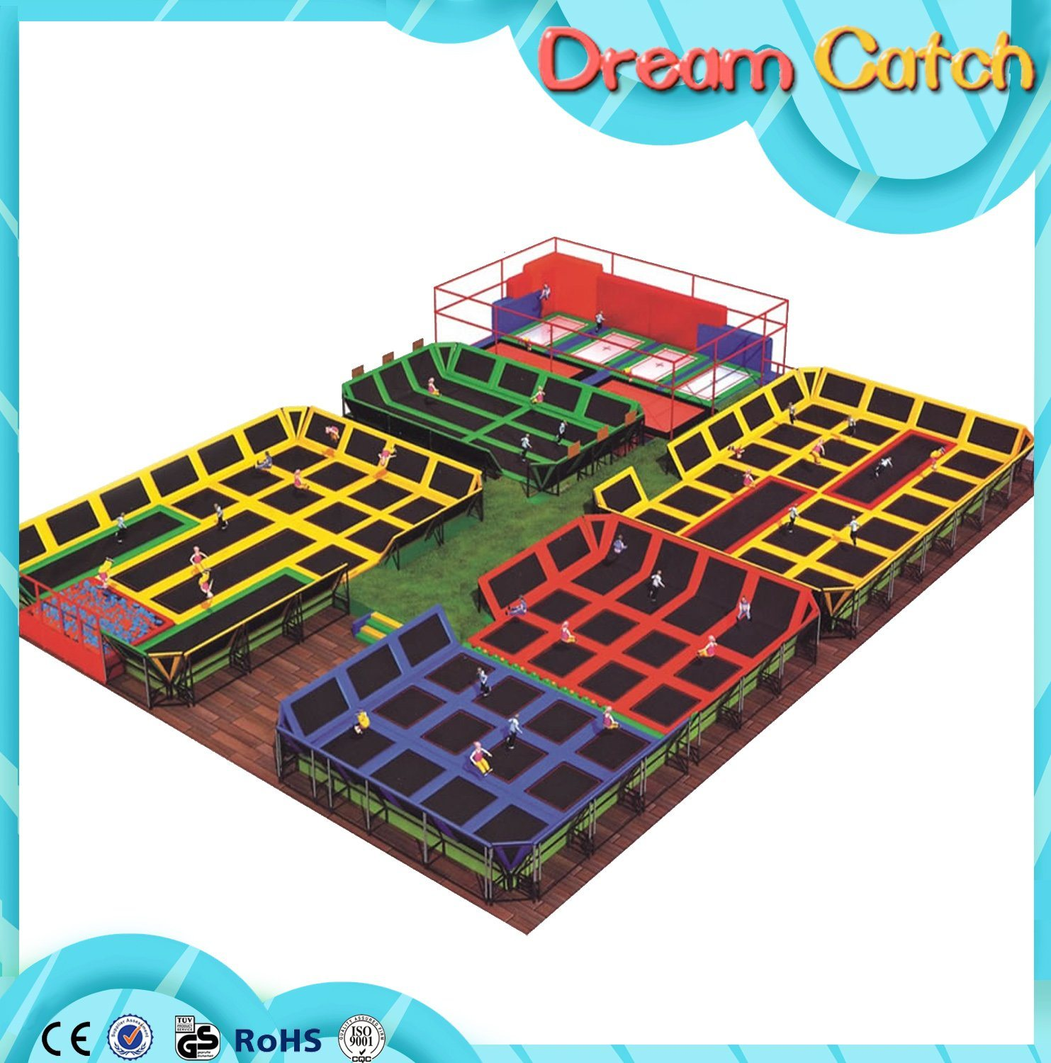 Children Indoor Soft Play Area Playground