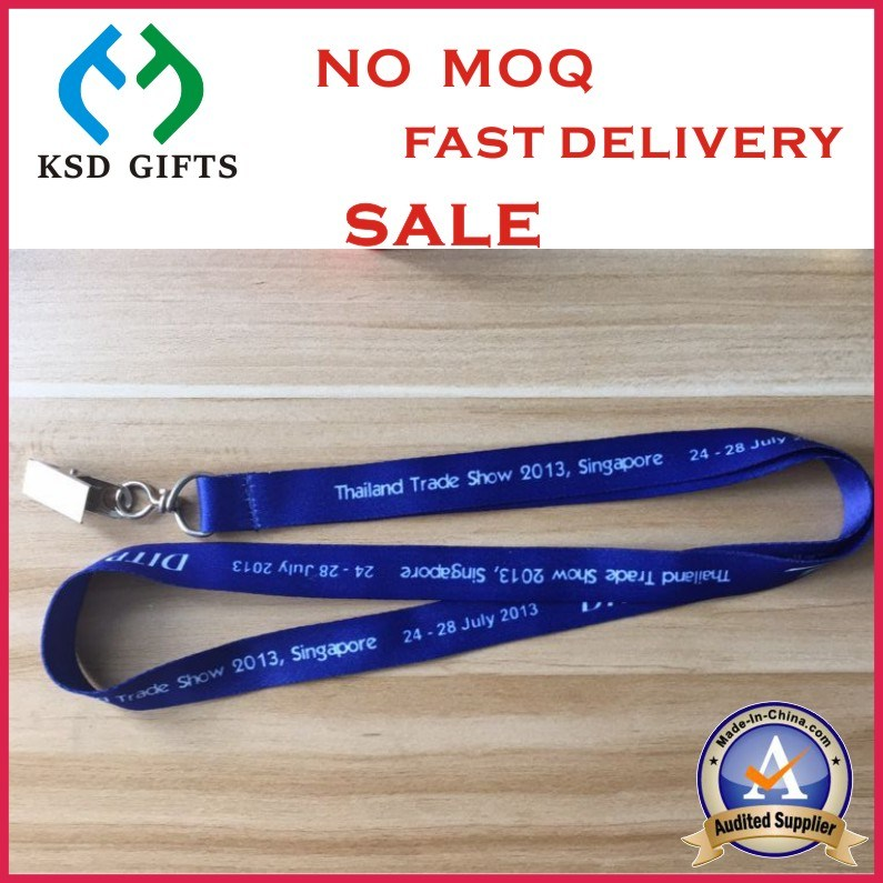Custom Colorful Polyester Nylon Printed Phone Lanyards for Forum Meeting