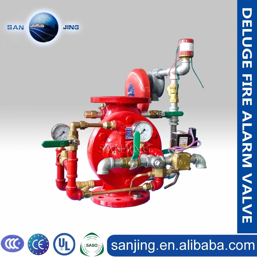 Top Quality Fire Alarm System Zsfz Wet Alarm Valve