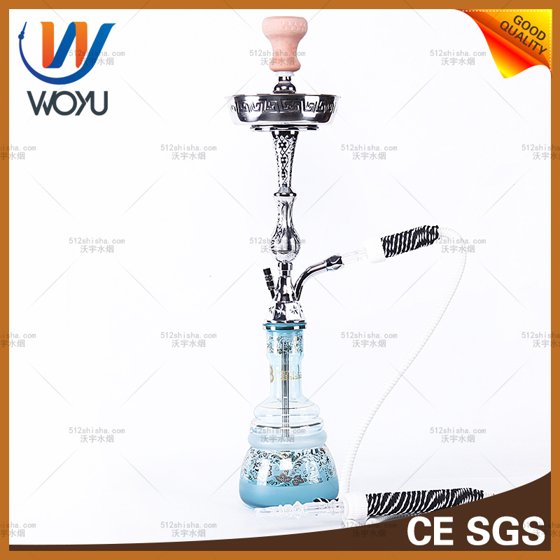Zinc Alloy Hand-Cut Water Pipes Water Pipe Hookah Glass Water Pipes of Smoking a Pipe