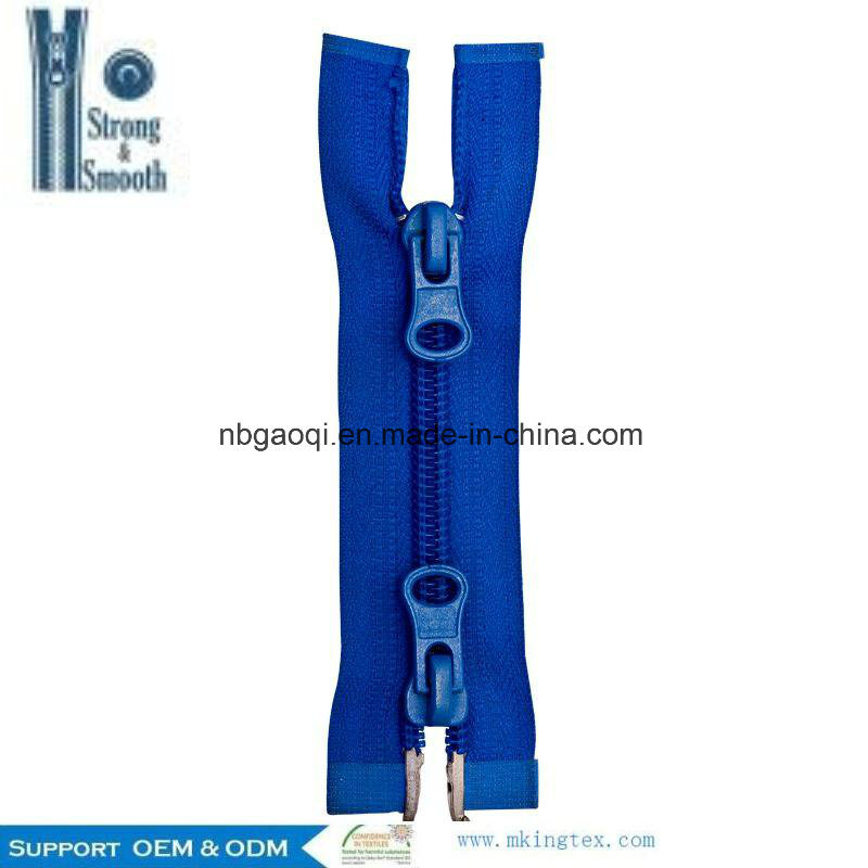 Professional Factory Hot 100% Nylon Zipper for Hotsale