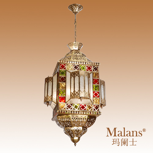 Netmasculine Lamps : Amazon.com: Pretty In Pink Beaded 3-Light Bowl Pendant Chandelier