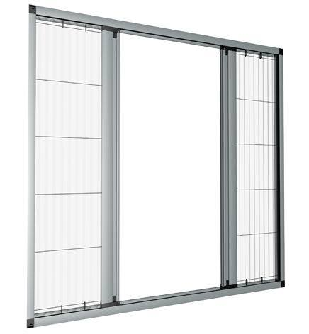 Aluminium Fly Screen - Folding Flyscreen