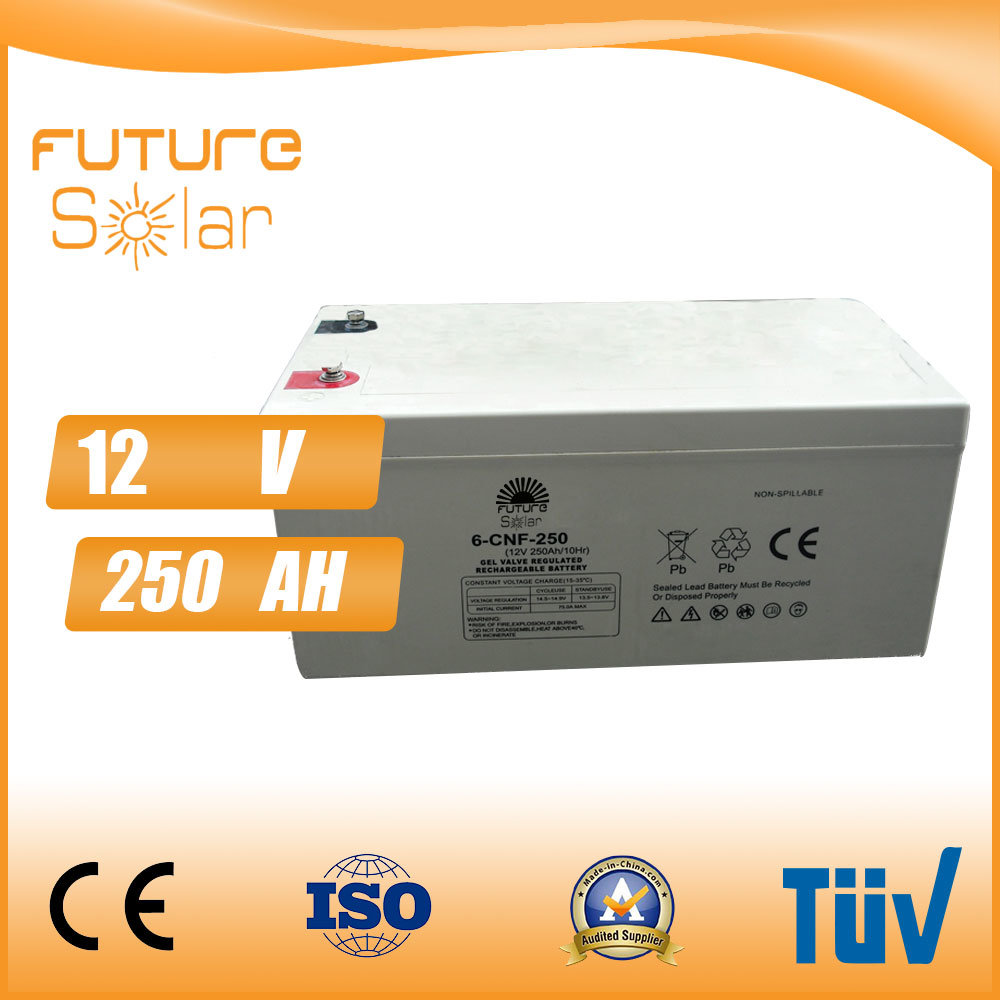 Futuresolar 12V 250ah Solar Battery 100kw Battery Storage
