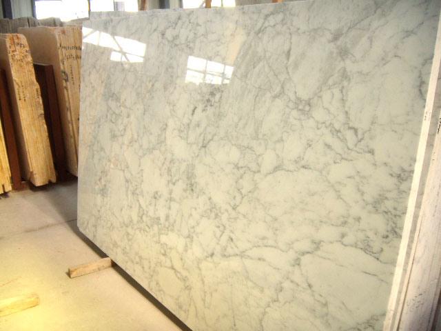 Marble Slab (Carrara White) - China Marble Slab, Slab