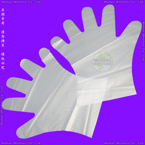 Surgical/Medical/Plastic/Polyethylene/Poly/CPE/HDPE/LDPE/PVC/Exam/Stretchable TPE Elastic/Veterinary/Examination Disposable Vinyl Gloves, Disposable PE Gloves