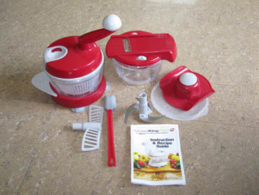My Folks Ordered A Couple Of These And Gave Me One Recently. I Had Never  Heard Of It Before, But Basically Itu0027s A Manual Food Processor.