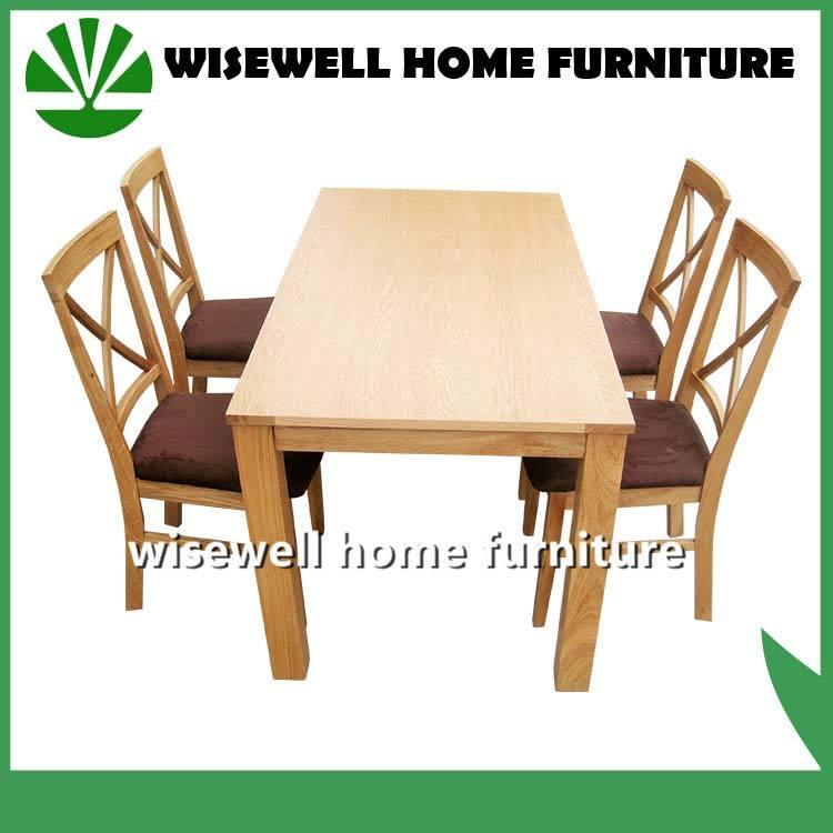 Solid Oak Wood Dining Furniture (W-DF-9026)