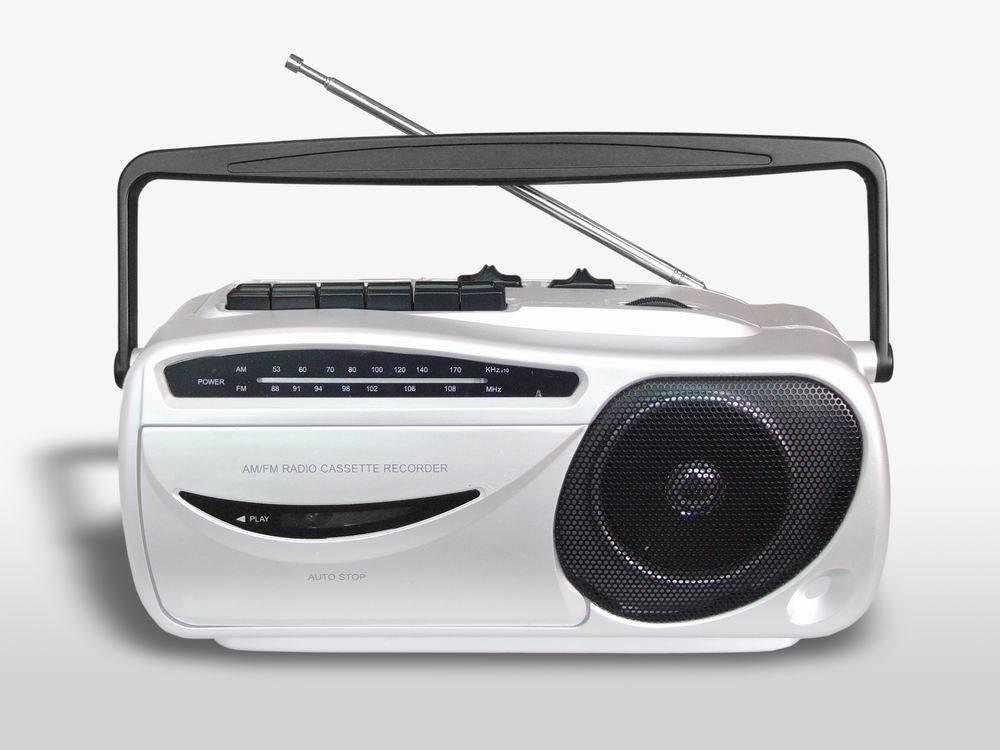 Tape player radio