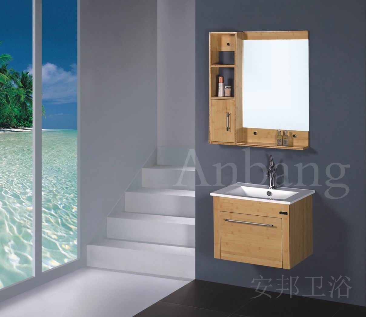 Bamboo Bathroom Furniture With Fantastic Images In Ireland