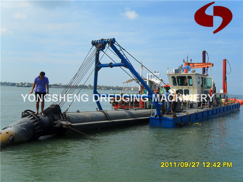 Sand Dredge Ship with Water Flow 2000 Cubic Meter Per Hour (CSD 300)