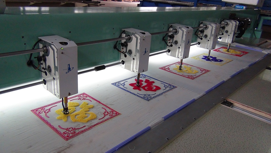 Hye-C612/400*900*1200 Chenile Computerised Embroidery Machine