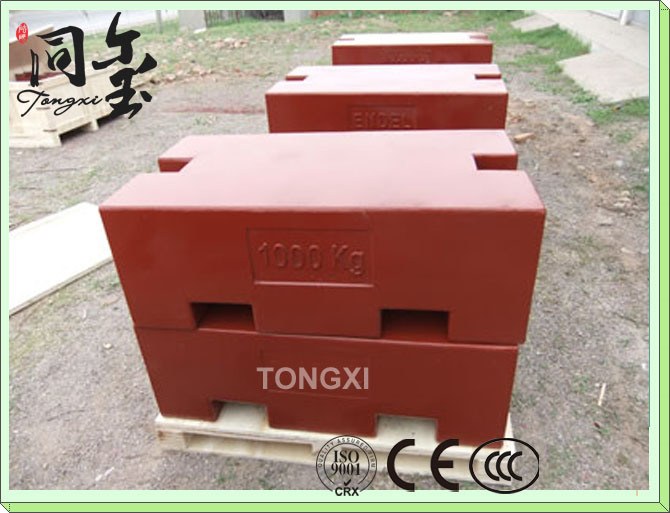 Hot-Sale Cast Iron Weigts Calibration Weights