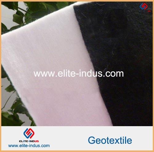Road Construction Materials Short Fiber PP High Strength Geotextile