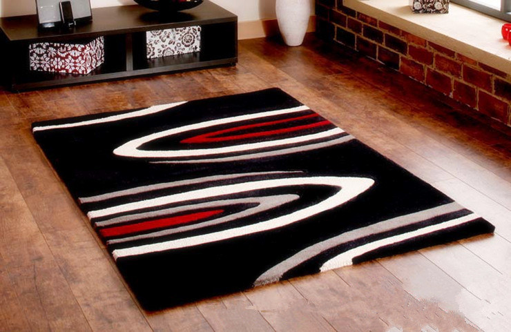 Home Decoration Red Carpet Runner 100 Acrylic Carpet