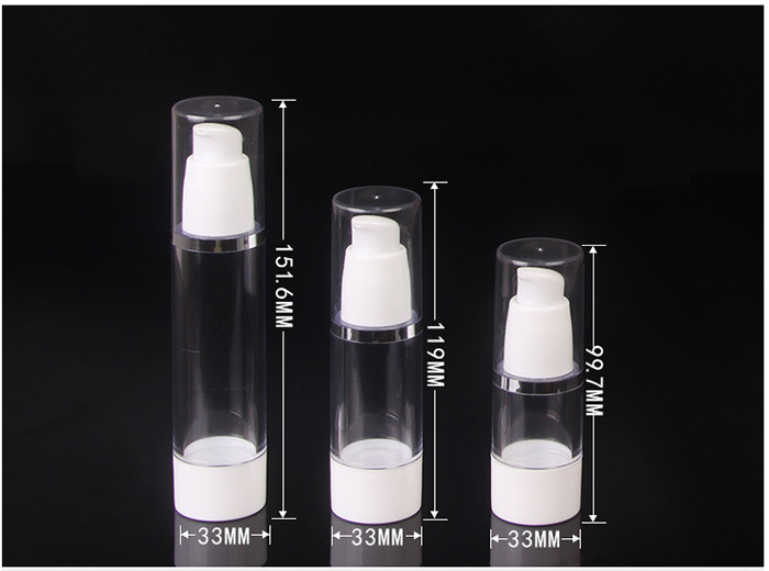 Natural Color Empty Airless Bottle for Cosmetic Cream (NAB12)