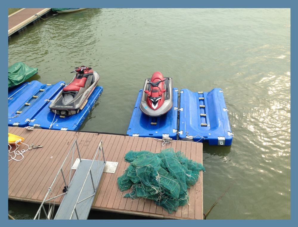 China Jet Ski Floating Dock for Sale