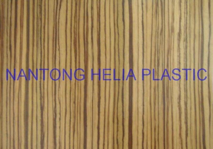 PVC Printing Flexible Plastic Film for Decoration Flooring etc (HL039-2)