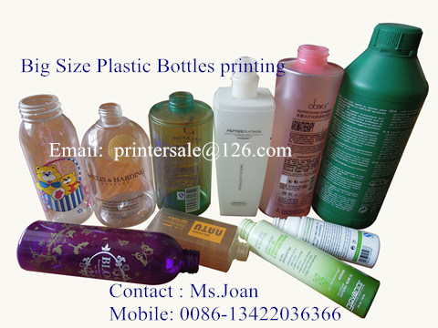 6 Color Big Size Plastic Bottle Screen Printer