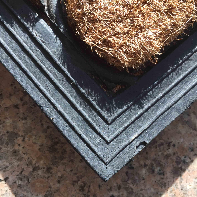 Entry Doorways Front Door Patio Porch Welcome Home Gardening Decoration Scraper Rugs Carpets Coco Coir Coconut Fiber Doormats