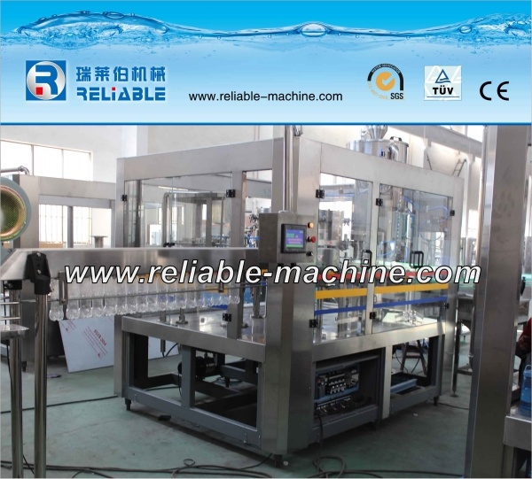Automatic Manual Bottle Mineral Water Filling Machine Line (CGF 18-18-6)