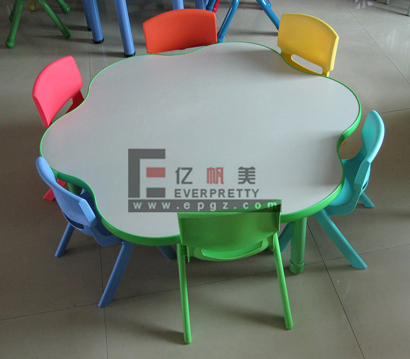 china kindergarden kids desk and chair flower design photos pictures made in. Black Bedroom Furniture Sets. Home Design Ideas