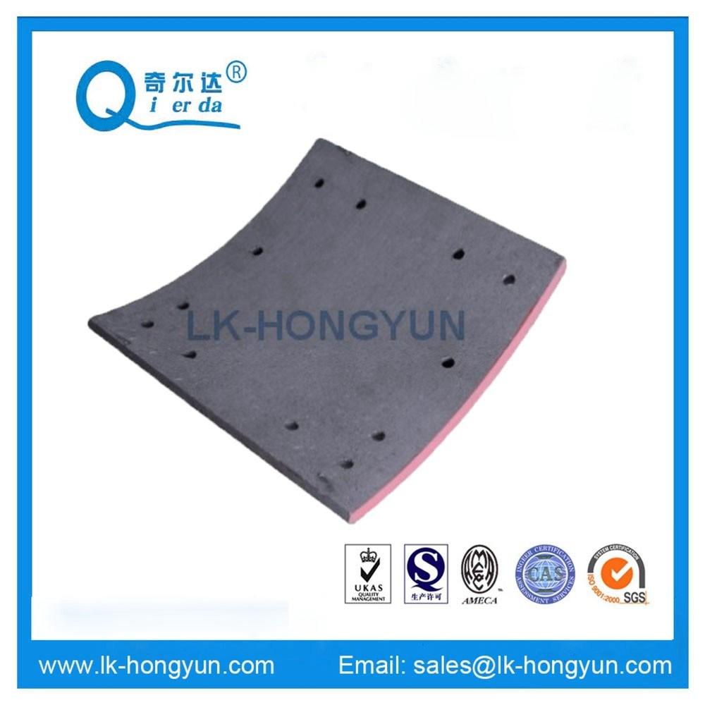 Wva 19037 High Quality Non-Asbestos Truck Brake Lining