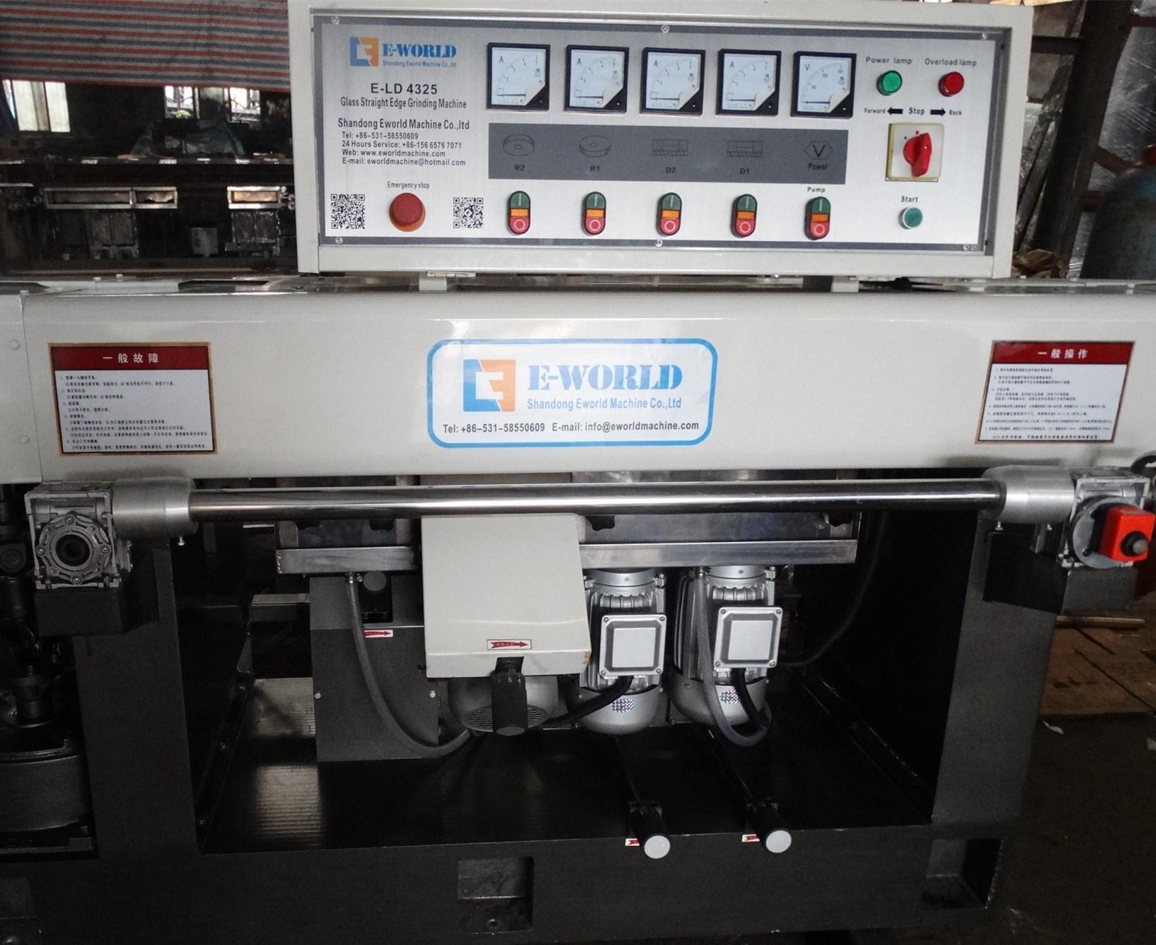 Portable Glass Edge Grinder Glass Edge Polishing Machine